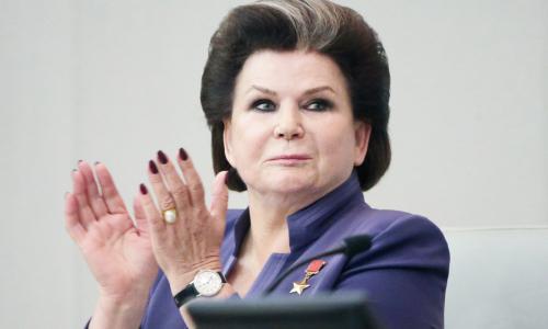 СМИ раскрыли размеры пенсий Терешковой и других космонавтов РФ